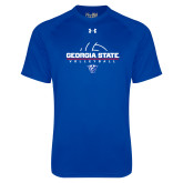 Under Armour Royal Tech Tee-Georgia State Volleyball Stacked