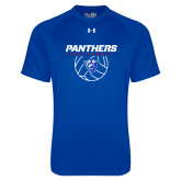 Under Armour Royal Tech Tee-Panthers Volleyball w/ Ball