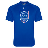 Under Armour Royal Tech Tee-Soccer Shield w/ Panther Head