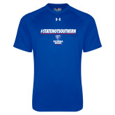 Under Armour Royal Tech Tee-#StateNotSouthern
