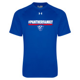 Under Armour Royal Tech Tee-#PantherFamily