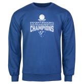 Royal Fleece Crew-2018 Mens Sun Belt Champions