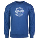 Royal Fleece Crew-Sun Belt Mens Basketball Champions