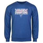 Royal Fleece Crew-Sun Belt Mens Tournament Champions