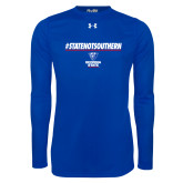 Under Armour Royal Long Sleeve Tech Tee-#StateNotSouthern