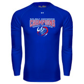 Under Armour Royal Long Sleeve Tech Tee-2016 Sun Belt Conference Champions Womens Tennis