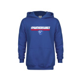 Youth Royal Fleece Hoodie-#PantherFamily