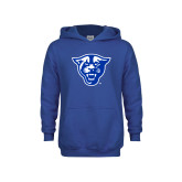 Youth Royal Fleece Hoodie-Panther Head