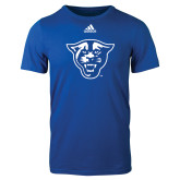 Adidas Royal Logo T Shirt-Panther Head
