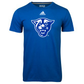 Adidas Climalite Royal Ultimate Performance Tee-Panther Head