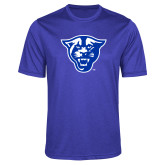 Performance Royal Heather Contender Tee-Panther Head