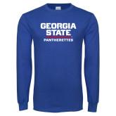 Royal Long Sleeve T Shirt-Pantherettes