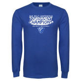 Royal Long Sleeve T Shirt-2018 Tournament Champions