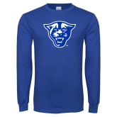 Royal Long Sleeve T Shirt-Panther Head