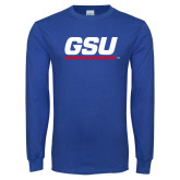 Royal Long Sleeve T Shirt-GSU