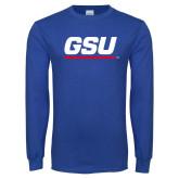 Royal Long Sleeve T Shirt-GSU