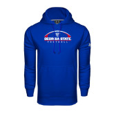 Under Armour Royal Performance Sweats Team Hood-Georgia State Football Flat