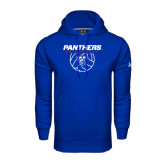 Under Armour Royal Performance Sweats Team Hoodie-Panthers Volleyball w/ Ball