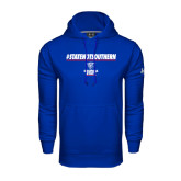 Under Armour Royal Performance Sweats Team Hood-#StateNotSouthern