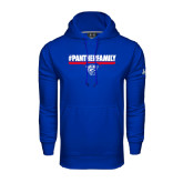 Under Armour Royal Performance Sweats Team Hoodie-#PantherFamily