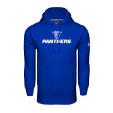 Under Armour Royal Performance Sweats Team Hoodie-Panthers w/ Panther Head