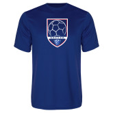 Performance Royal Tee-Soccer Shield w/ Panther Head