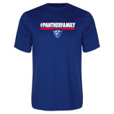 Performance Royal Tee-#PantherFamily