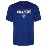 Performance Royal Tee-2018 Mens Basketball Tournament Champions