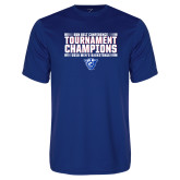 Performance Royal Tee-Sun Belt Mens Tournament Champions