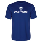 Syntrel Performance Royal Tee-Panthers w/ Panther Head