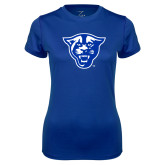 Ladies Syntrel Performance Royal Tee-Panther Head