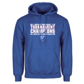 Royal Fleece Hoodie-Sun Belt Mens Tournament Champions