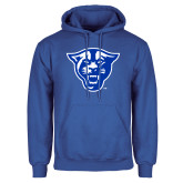 Royal Fleece Hoodie-Panther Head