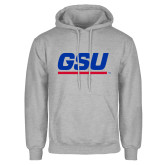 Grey Fleece Hood-GSU