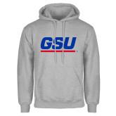 Grey Fleece Hoodie-GSU