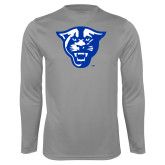 Performance Steel Longsleeve Shirt-Panther Head