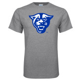 Grey T Shirt-Panther Head