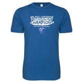 Next Level SoftStyle Royal T Shirt-2018 Tournament Champions