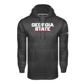 Under Armour Carbon Performance Sweats Team Hood-Georgia State Wordmark