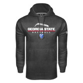 Under Armour Carbon Performance Sweats Team Hood-Georgia State Softball Stacked