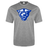 Performance Grey Heather Contender Tee-Panther Head
