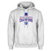 White Fleece Hoodie-2018 Mens Sun Belt Champions