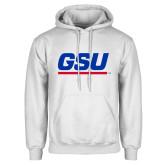 White Fleece Hoodie-GSU