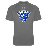 Under Armour Carbon Heather Tech Tee-Panther Head