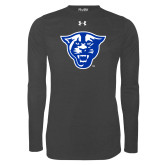 Under Armour Carbon Heather Long Sleeve Tech Tee-Panther Head