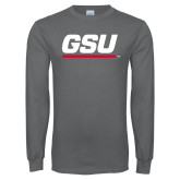 Charcoal Long Sleeve T Shirt-GSU
