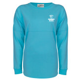 J America Turquoise Game Day Jersey-Official Logo