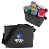 Six Pack Grey Cooler-Official Logo