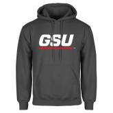 Charcoal Fleece Hood-GSU