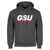 Charcoal Fleece Hoodie-GSU
